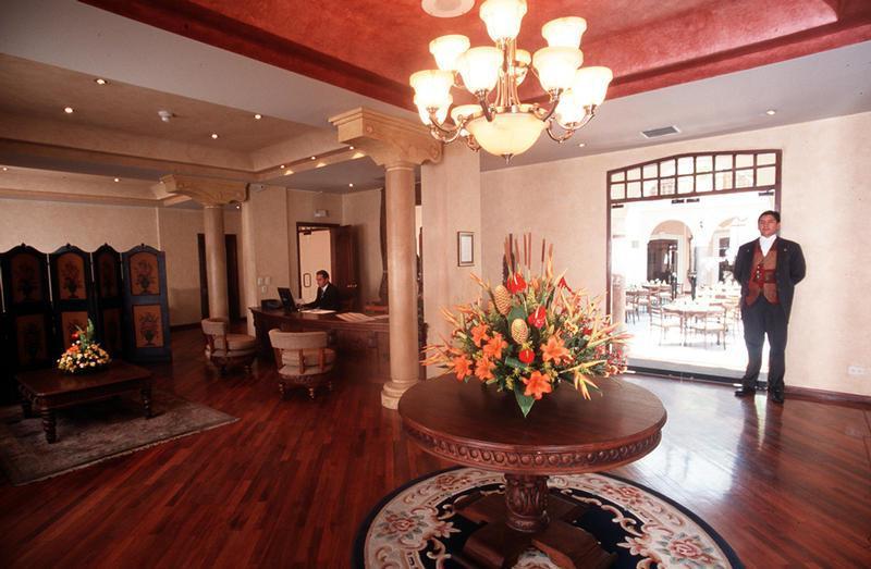Lobby - Hotel Patio Andaluz In Ecuador My Guide Ecuador
