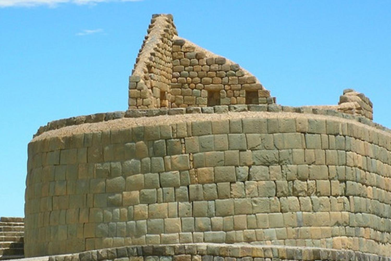 Ingapirca Ruins from Cuenca