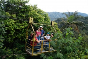 Mindo's Cable Car and Waterfalls