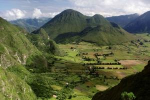 Mitad del Mundo and Hiking in Pululahua Volcano