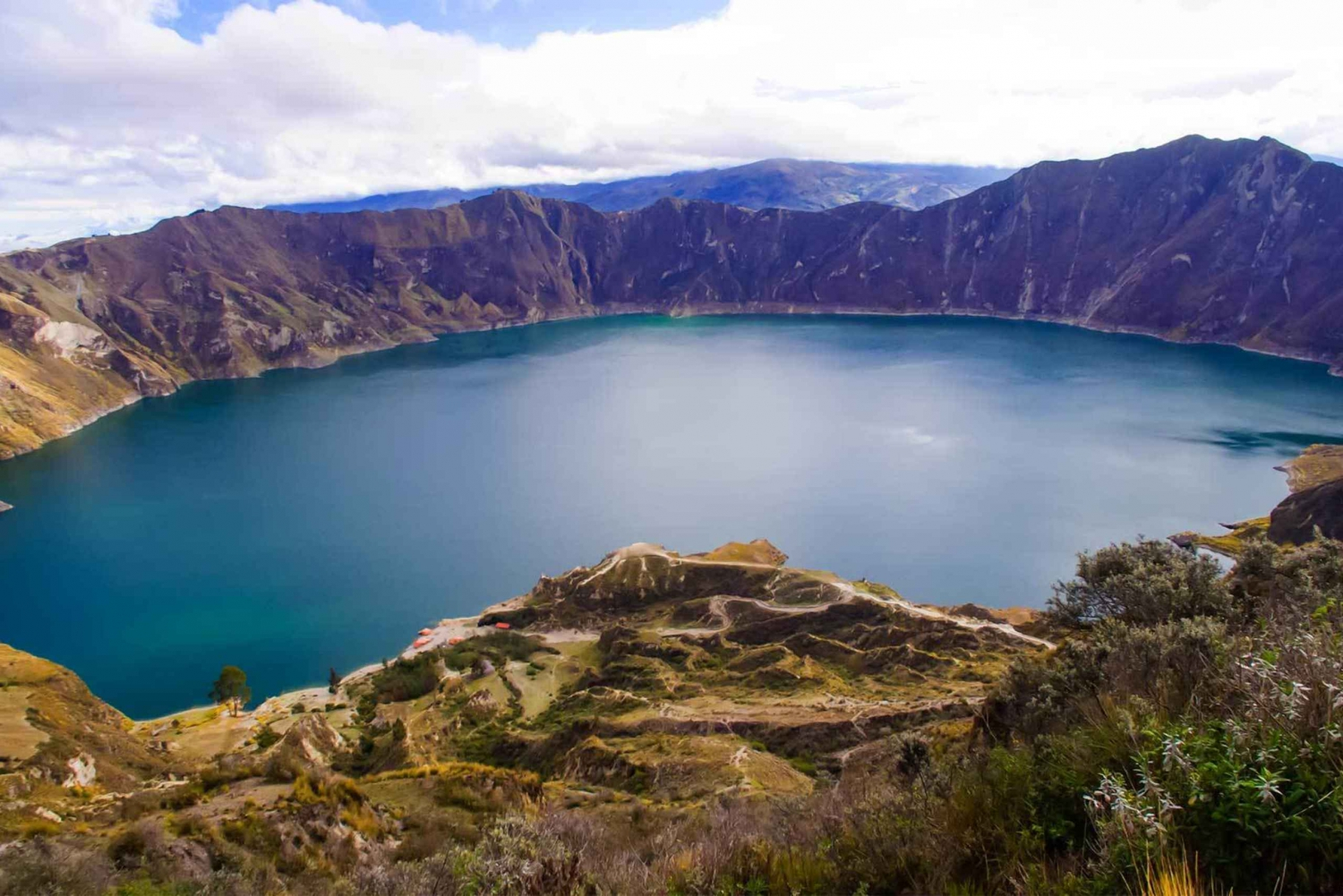 Quilotoa Lagoon: Full-Day Tour from Quito