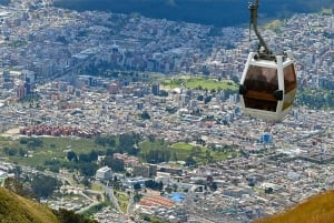 Quito City Sightseeing Tour and Cable Car