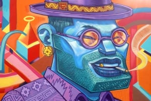 Quito: Guided Street Art Tour with a Craft Beer