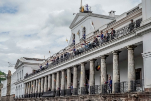 Quito Sightseeing Tour with Cable Car and Equator Line