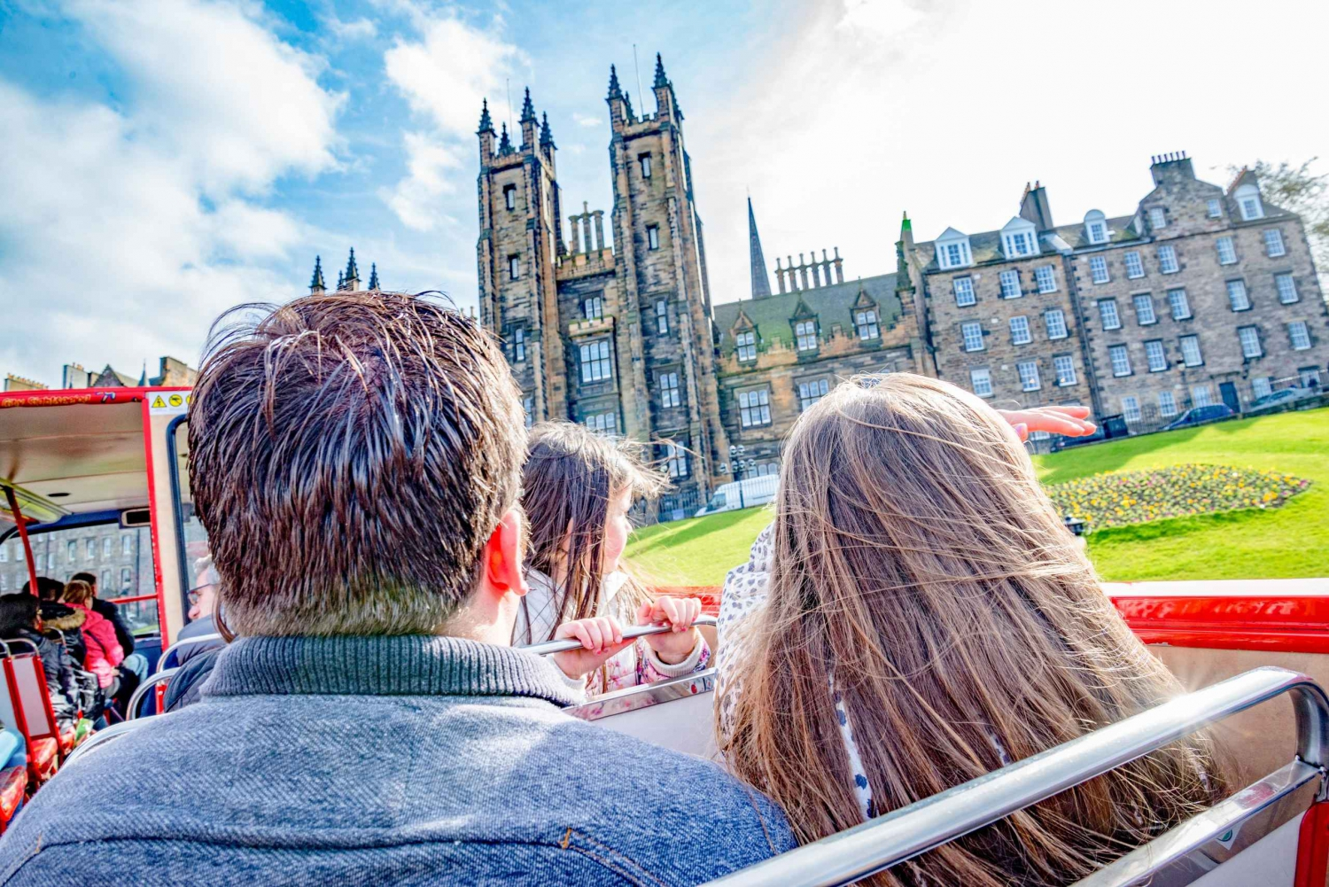 48-Hour City Bus Tours and Firth of Forth Cruise