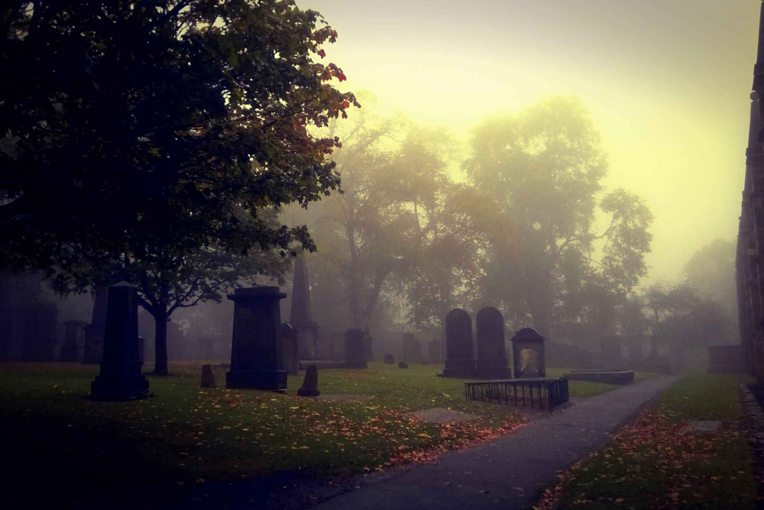 City of the Dead Haunted Graveyard Tour