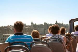 City Sightseeing Edinburgh: 24-Hour Hop-on Hop-off Bus Tour