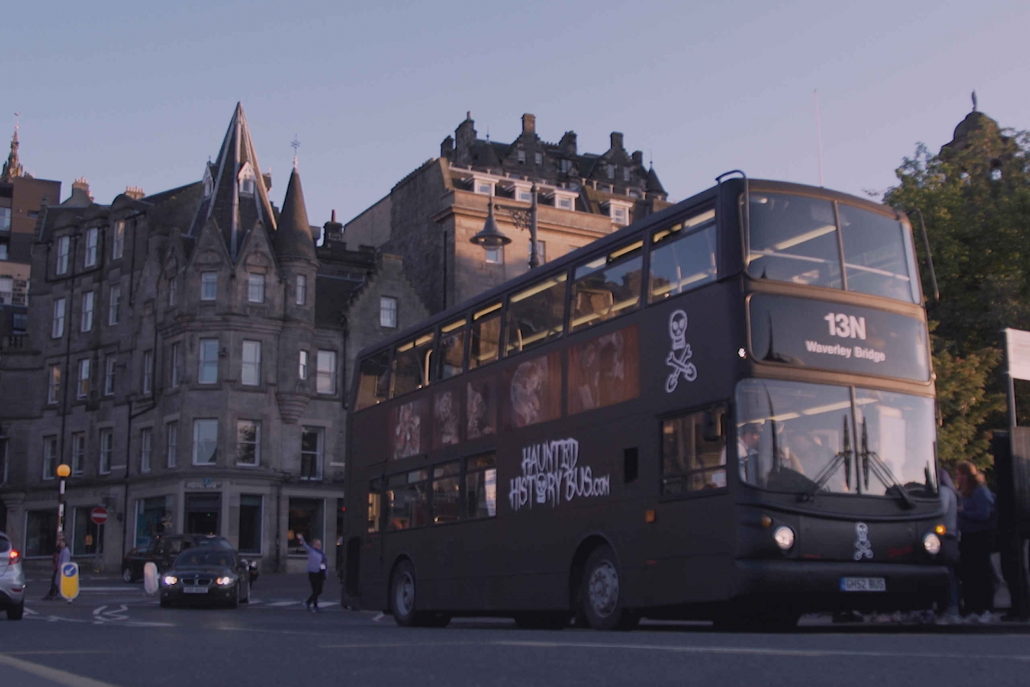 Edinburgh 1-Hour Haunted History Bus Tour