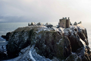 From Glamis and Dunnottar Castles Tour in Spanish