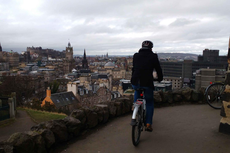 Guided Bike Ride: Edinburgh and Beyond