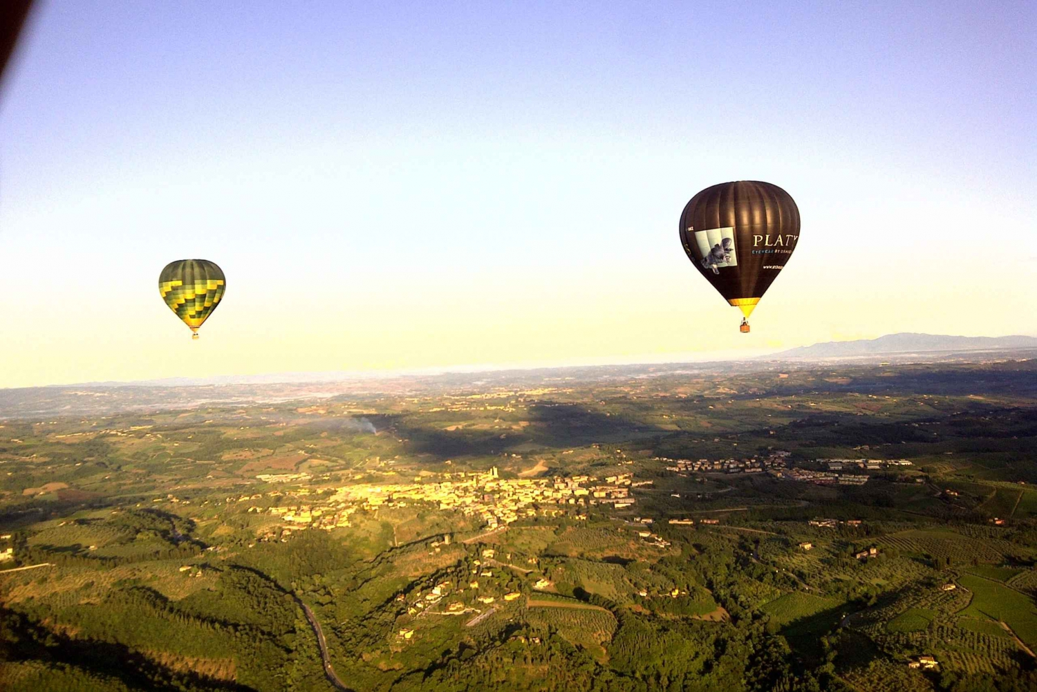 Balloon Flight Over Tuscany: Florence
