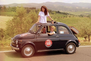 Chianti Countryside Full-Day Tour by Vintage Fiat 500