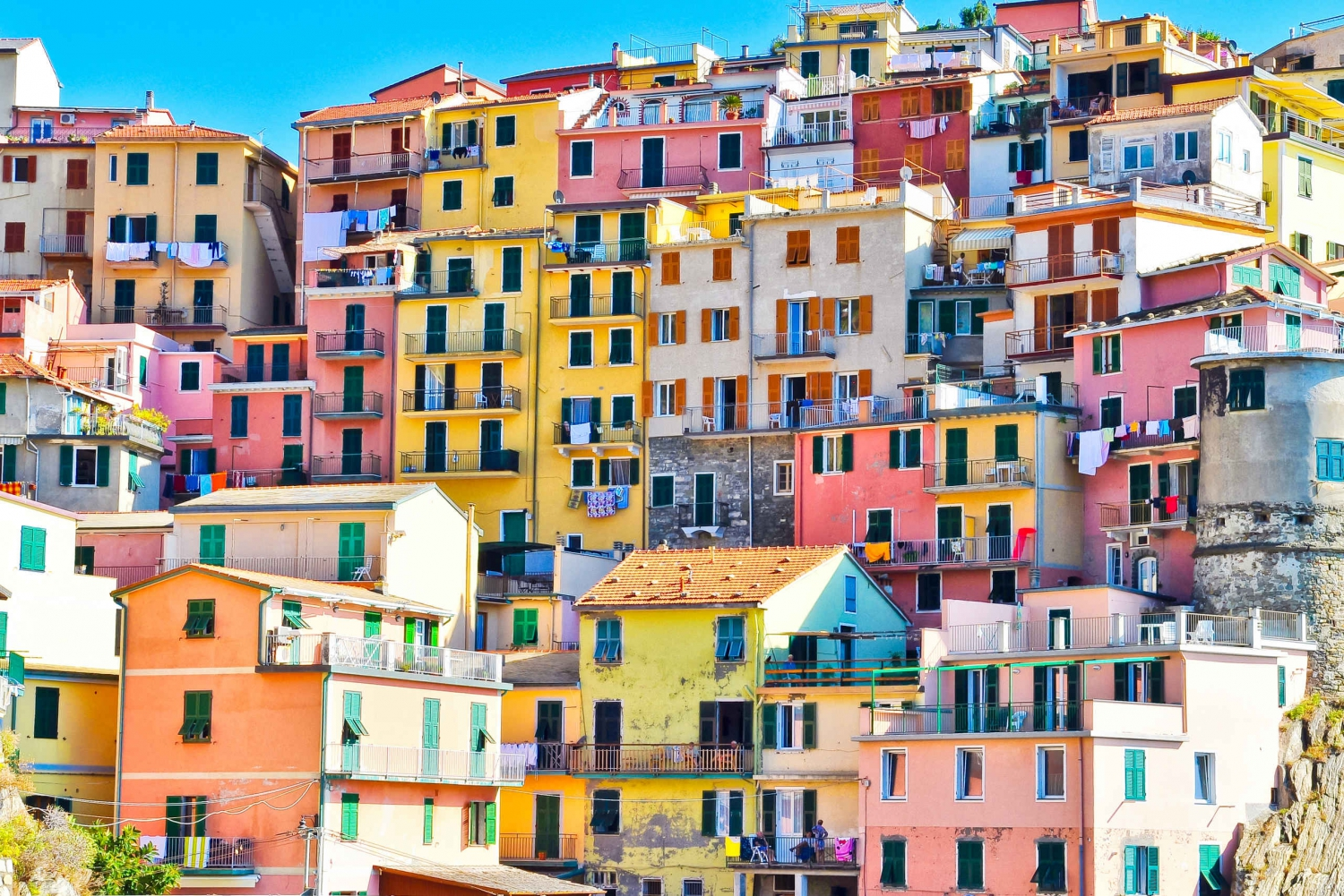 Cinque Terre: Escorted Round-Trip Bus from Florence