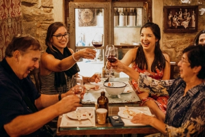 Dine around An Evening Food and Wine Experience
