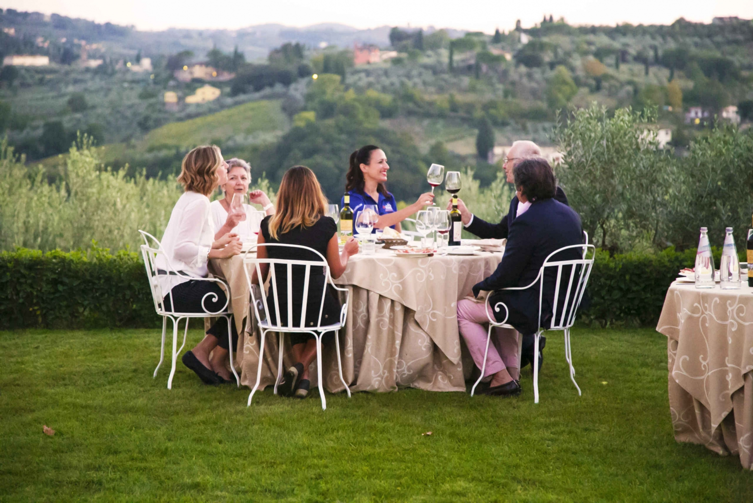 Dinner and Wine Tasting in a Tuscan Villa