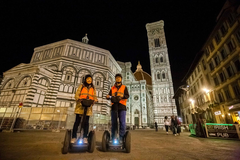 Florence 2.5-Hour Night Segway Tour, with Gelato Ice Cream