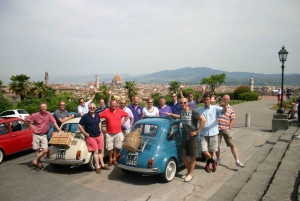 Florence 5-Hour Picnic Tour in a Vintage Fiat 500