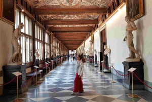 Florence: Accademia, Uffizi Gallery and Walking Tour