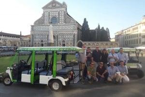Florence: Eco-Friendly Golf Cart City Tour