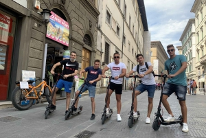Florence: Electric Scooter Tour with Guide