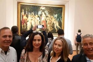 Florence: Exclusive Uffizi, David, and Accademia Tour