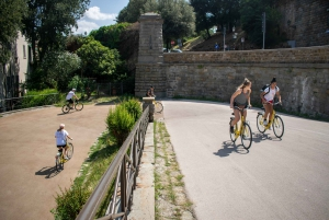 Florence: Guided Cycling Sightseeing Tour with Gelato