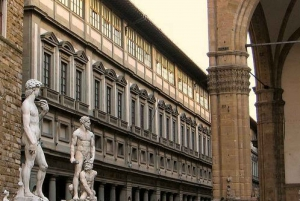 Florence: Private City Walking Tour with Accademia & Uffizi