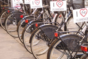 Florence: Vintage Bike Tour with Gelato Tasting