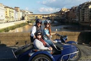 Florence: Vintage Sidecar Tour at Morning or Sunset