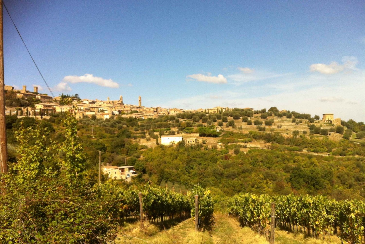 From Brunello di Montalcino Wine Tour