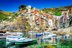 From Florence: Round Trip Transfer to Cinque Terre
