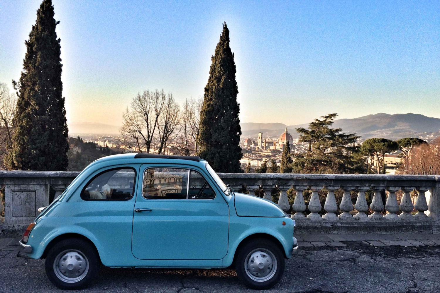 From Grand Tuscan Vintage Fiat 500 Tour