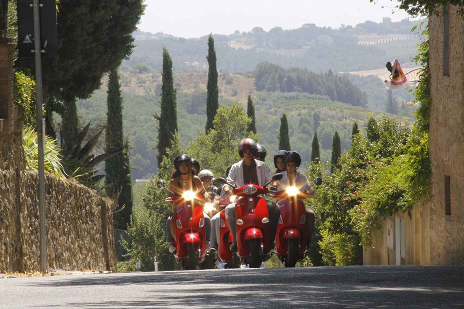 From Lucca: Vespa Panoramic Tour of Florence