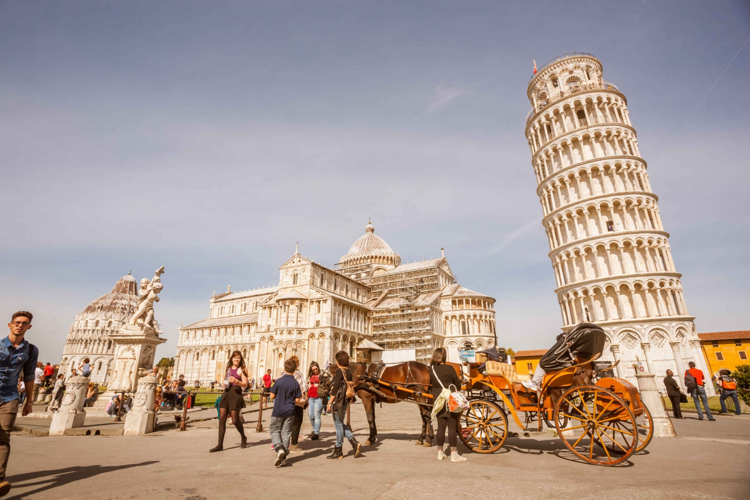 From Pisa Day Tour with Leaning Tower of Pisa
