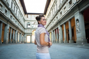 From Rome: Florence Uffizi & Accademia Guided Tour
