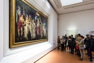 Museums Special: Accademia and Uffizi Combo Tour