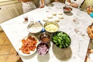 Pizza & Gelato Preparation Class in Florence
