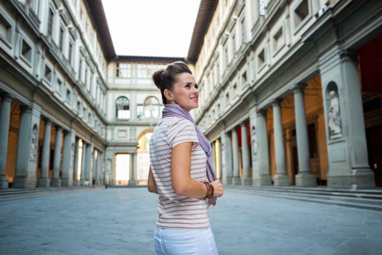 Private Tour w/ Skip-the-Line Uffizi Ticket
