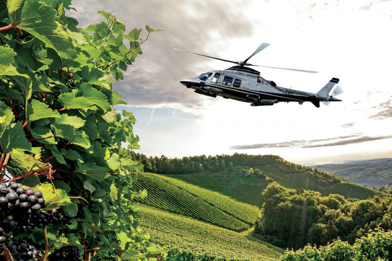 San Gimignano: Helicopter Wine Tour