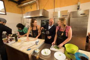 Traditional Tuscan Cooking Class in a Winery