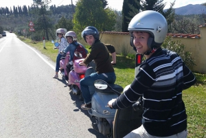 Tuscany 6-Hour Vespa Tour with Traditional Lunch