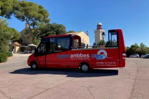 Antibes: 1 or 2-Day Hop-on Hop-off Sightseeing Bus Tour