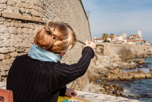 Antibes: Picasso Museum Drawing Tour Led by Local Artist