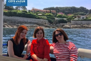 Beaulieu-sur-Mer: Private French Riviera Solar Boat Cruise