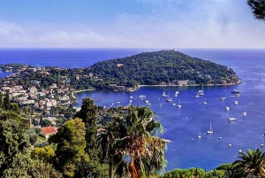 Eze, Monaco, and Monte-Carlo from Nice