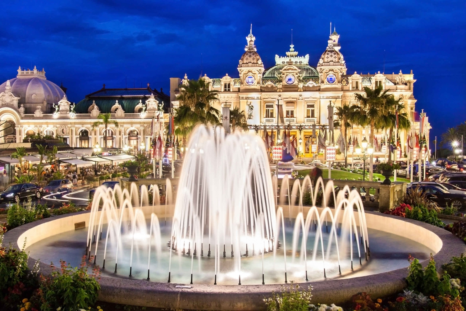 From Cannes: Evening Tour & Dinner in Monte Carlo
