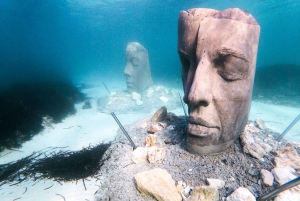 From Cannes: Statues of Lerins Islands Discovery