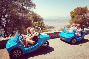 From Nice: 2-Hour Scenic Drive by 3-Wheel Vehicle