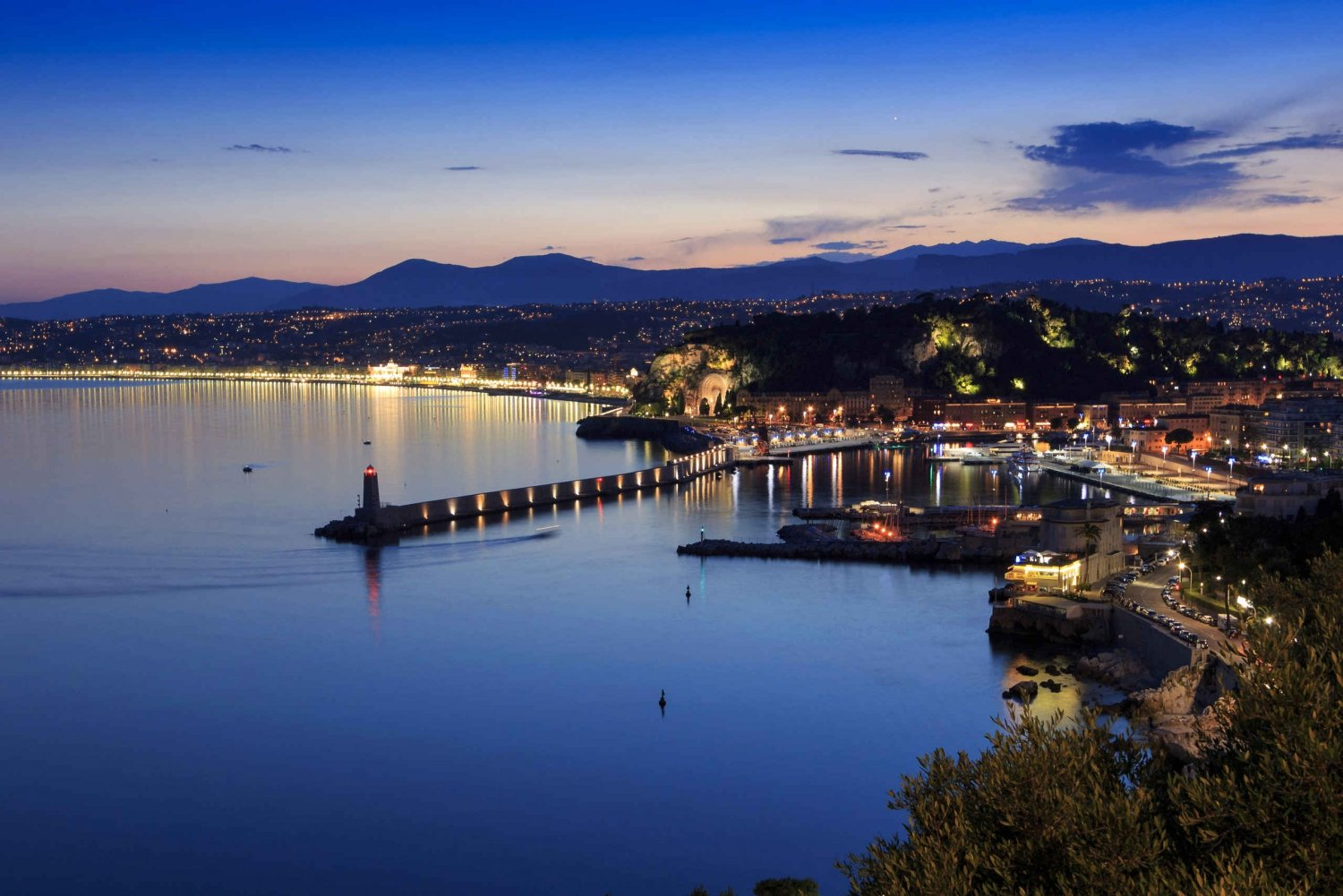 From Nice: 3-Hour Villefranche By Night Tour