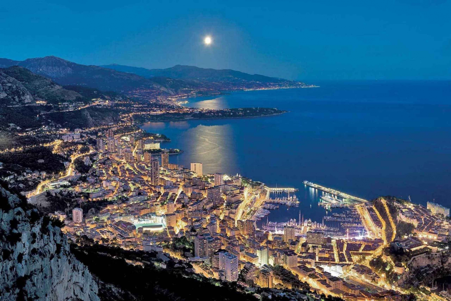 From Nice : 4-Hour Monaco by Night